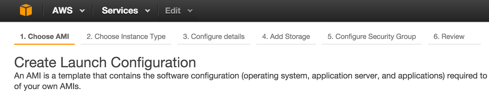 AWS Launch Config